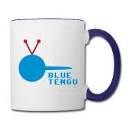 Official Blue Tengu Lefty Mug