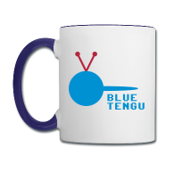 Official Blue Tengu Righty Mug