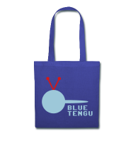 Official Blue Tengu Tote Bag