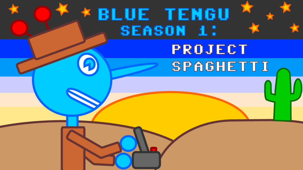 Blue Tengu Season 1 Logo