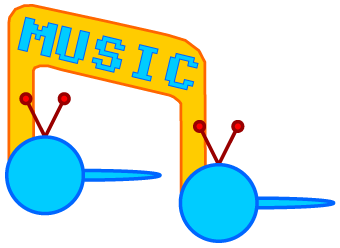 Blue Tengu Music Logo