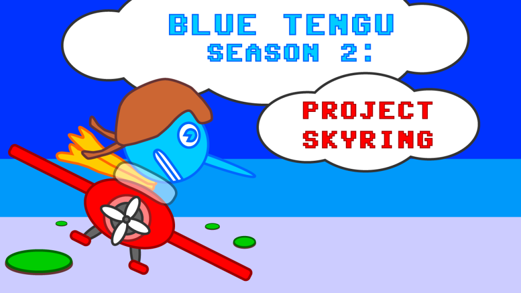 Blue Tengu Project Skyring YouTube Title Card