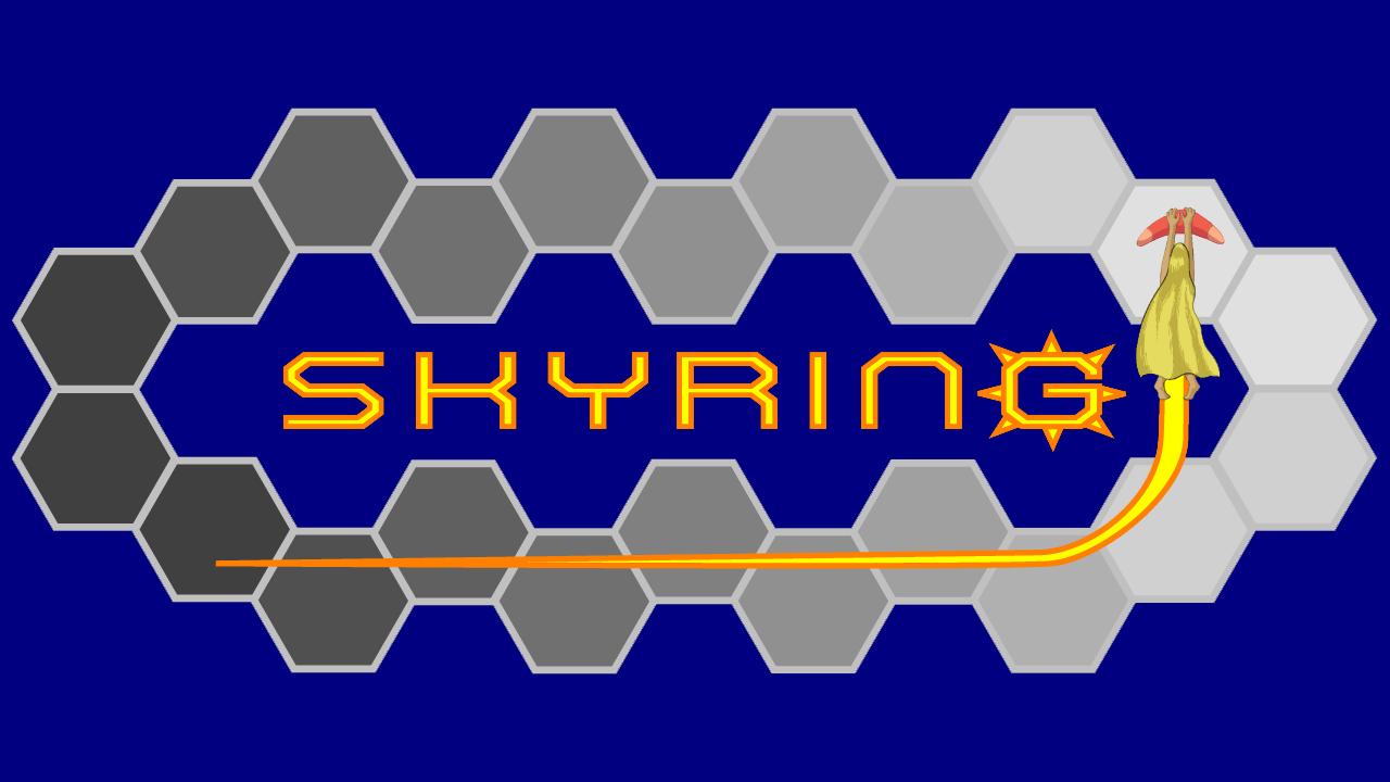 Skying 720p Logo