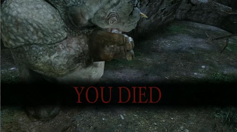 Dark Souls 2 You Died